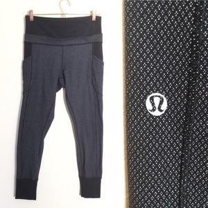 "LULULEMON 11"" High Rise Legging 27"""